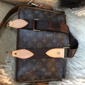 Louis Vuitton long crossbody strap
